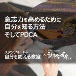 意志力を高めるために自分を知る方法そしてPDCA